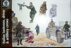 037       	World War II Italian Tank, Vehicle and Artillery Crews