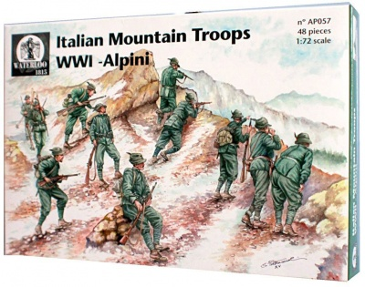 057 World War I Italian Mountain Troops 'Alpini'