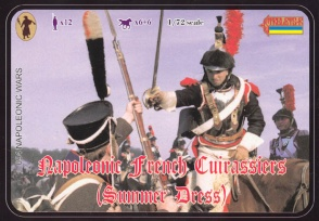 094 French Cuirassiers in Summer Dress