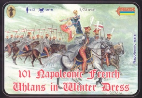 101 French Uhlans in Winter Uniform