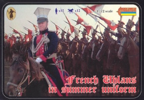 102 French Uhlans in Summer Uniform
