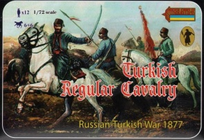 110 Russ-Turkish War 1877 Turkish Regular Cavalry