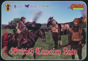 114 Late WWI British Cavalry