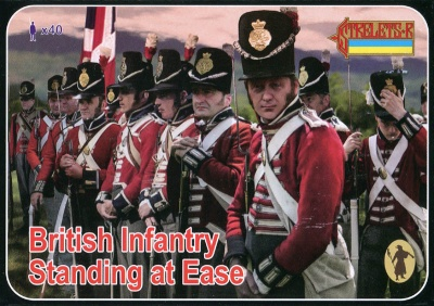 162 - Napoleonic British Infantry Standing at Ease