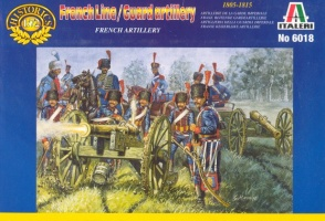 6018	Napoleonic French Line/Guard Artillery