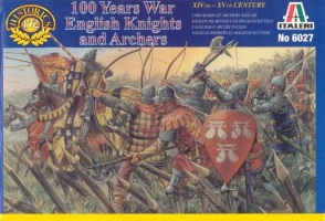 6027- 100 YEARS WAR English Knights and Archers