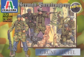 6045	World War II German Paratroopers