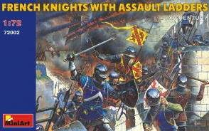 72002	French Knights with Assault Ladders