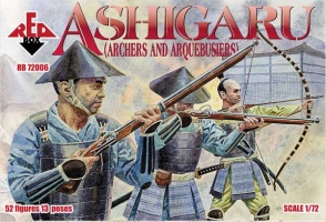 72006	Ashigaru (Archers and Arquebusiers)