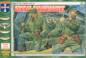 72018 WWII German Paratroopers
