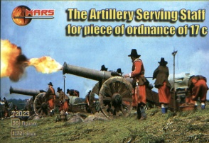 72023  Artillery Serving Staff for Piece of Ordnance 17C
