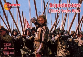 72027	Thirty Years War Arquebusiers