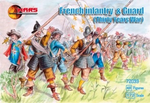 72039	Thirty Years War French Infantry and Guard