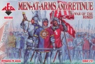 72040	Wars of the Roses Men-at-Arms and Retinue