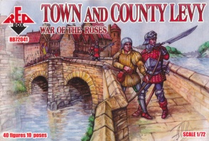 72041     	Wars of the Roses Town & Country Levy