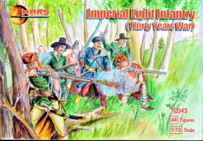 72043     	Thirty Years War Imperial Light Infantry