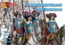 72045 French mounted Guards royal musketeers