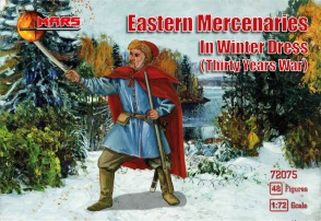 72075 Eastern mercenaries in winter dress TYW