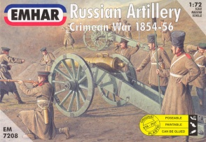 7208	Crimean War Russian Artillery