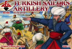 72080 - Turkish Sailors Artillery 16-17th century