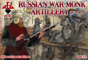 72087 - Russian Warrior Monks Artillery 16-17th century