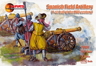 72092  Spanish field artillery  1 half of the 17th century