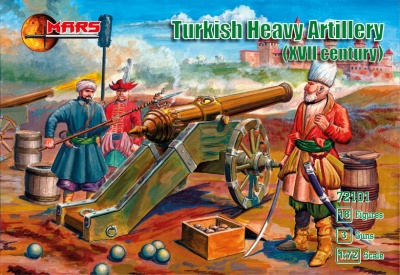 72101 Turkish Heavy Artillery XVII century