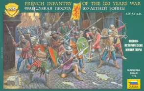 8053 French Infantry of the Hundred Years War