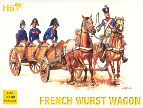 8102  Napoleonic French Wurst Wagon