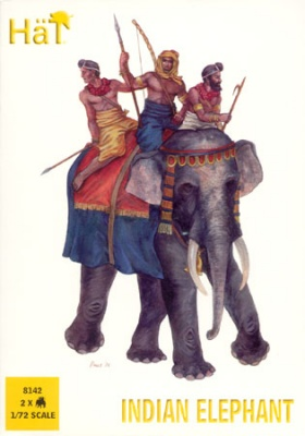8142  Indian Elephant  - battle of Hydaspes
