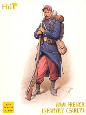 8148 	WWI French Infantry 1914