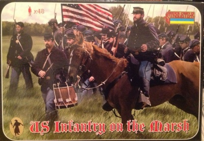 A.C.W. 149 US Infantry on the March - Gettysburg
