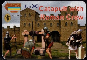 A009 - Catapult with Roman Crew