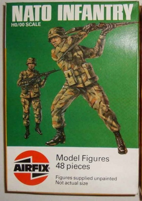 AIRFIX S59 - NATO Infantry - 48 figures TALL BOX