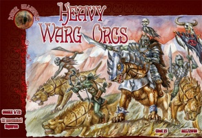 ALL72010        Heavy Warg Orcs (Dark Alliance)