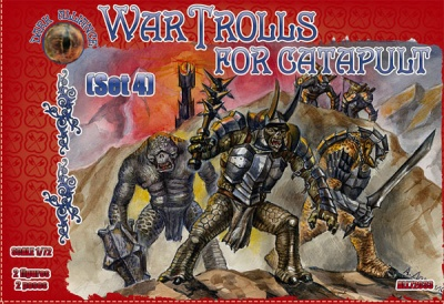 ALL72033  War Trolls. Set 4  GIANTS FANTASY