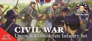 Billy V-Imex BVI-680 Civil War, Union and Confederate Infantry