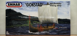 EHMAR 9001 9th Century Gokstad Viking Ship