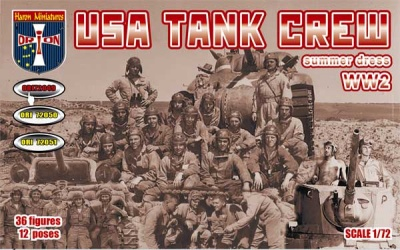 """FURY"" ---72049   USA Tank Crew (Summer Dress). WW2"
