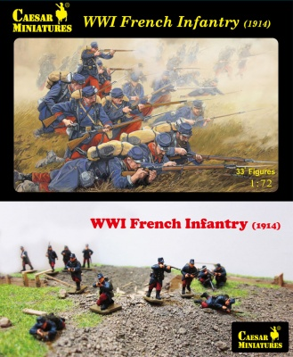 H034 WWI French Infantry (1914)