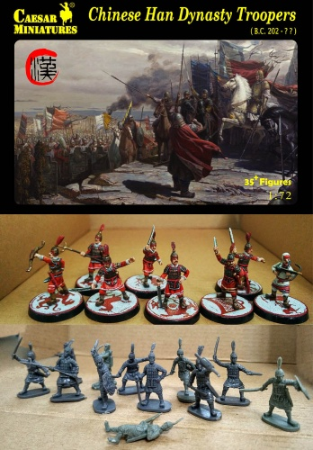 H043 Chinese Han Dynasty Troopers