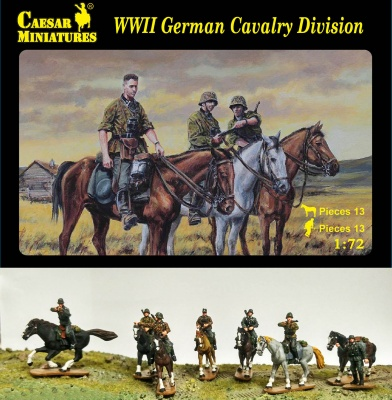 H092 WWII German Cavalry Division