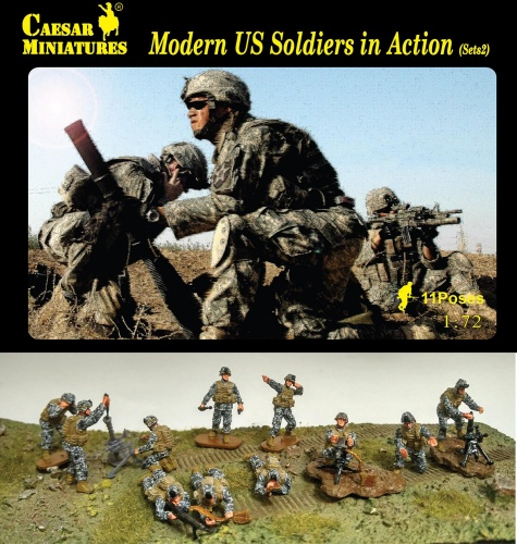 H094 Modern US Soldiers in Action Sets2
