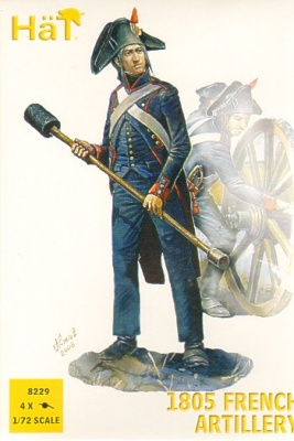 HAT 8229 Napoleonic 1805 French Artillery