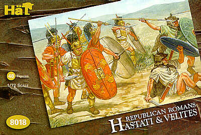 HAT8018 Republican Romans Hastati and Velites