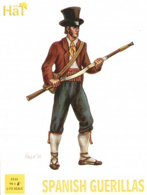 HAT8116 Napoleonic Spanish Guerillas (double set)