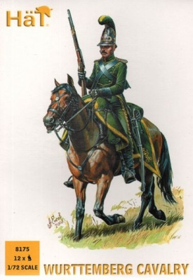 HAT8175 Wurttemberg Cavalry Napoleonic - 12 mounted