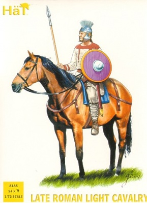 HAT8188 Late Roman Cavalry - doppio set