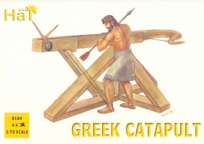 HaT ANCIENTS Set 8184  Greek Catapults