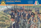 ITALERI 6060 American War of Independence American Infantry